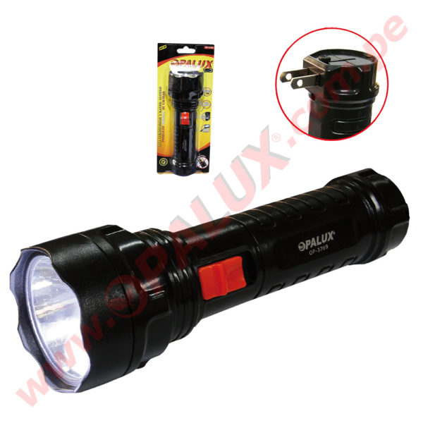 OP-3738 Linterna Recargable 1 LED 0
