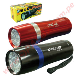 "YT-2009-6 Linterna ""OPALUX"" 9 Led Ultra-Brillante"