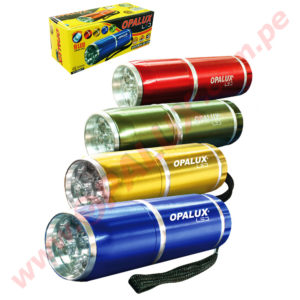 "YT-2009-7 Linterna ""OPALUX"" 9 LED Ultra-brillante"