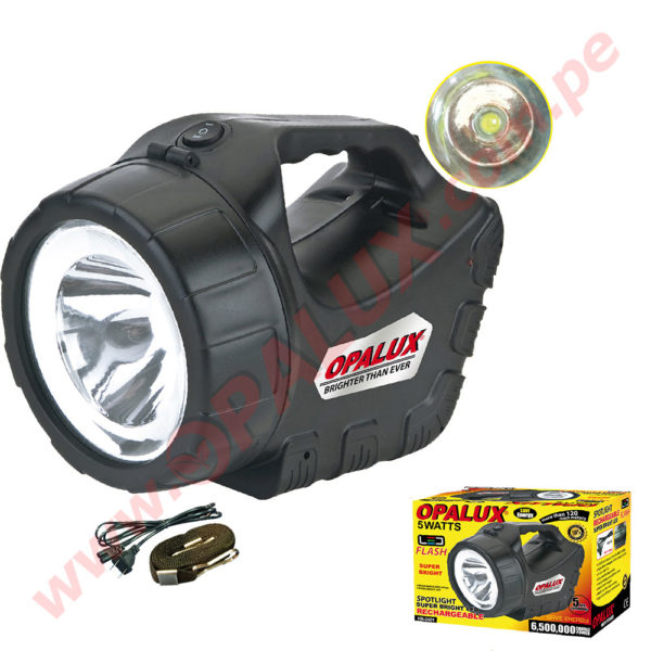 HB-2401 Spotlight Super bright LED Rechargeable 3Watts 1