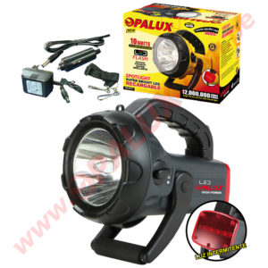 HB-4011T/NG Spotlight Super bright LED Recargable 10Watts