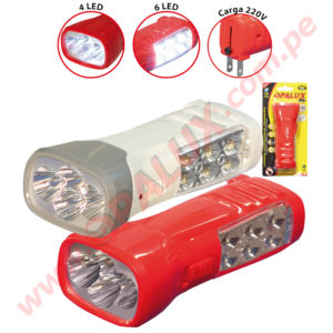 OP-3726 Linterna 10LED recargable