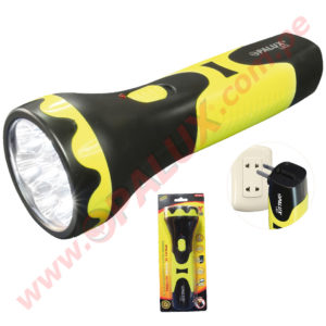 "OP-6012 Linterna ""OPALUX"" 7 LED Recargable"