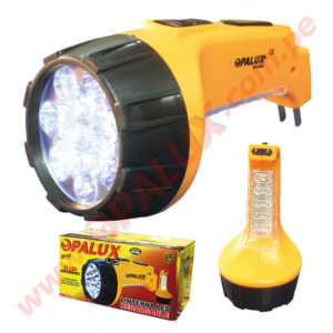 "OP-6120A Linterna LED Recargable 25LED ""OPALUX"""