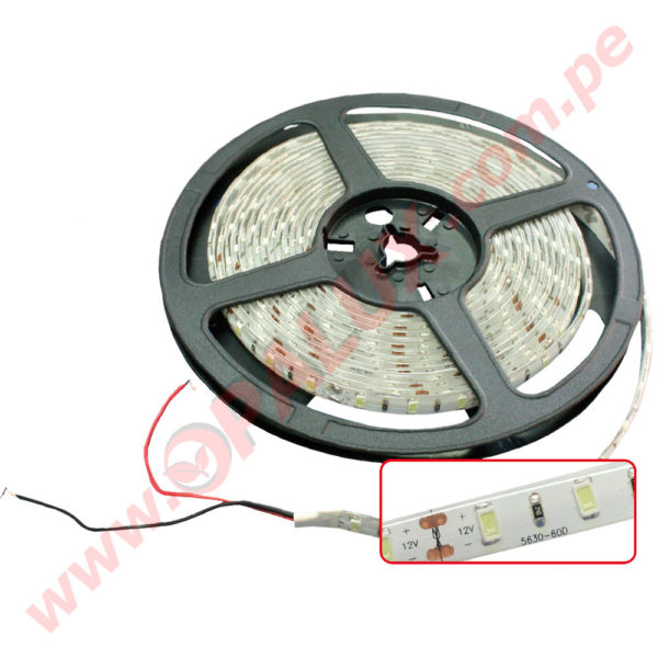 SIL56WW Cinta 5630 LED 12V 5 metros 1