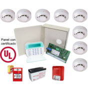 Kit de Alarma de Incendio 10