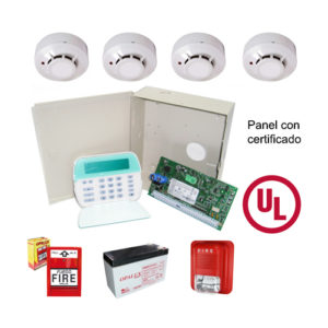 Kit de Alarma de Incendio 6